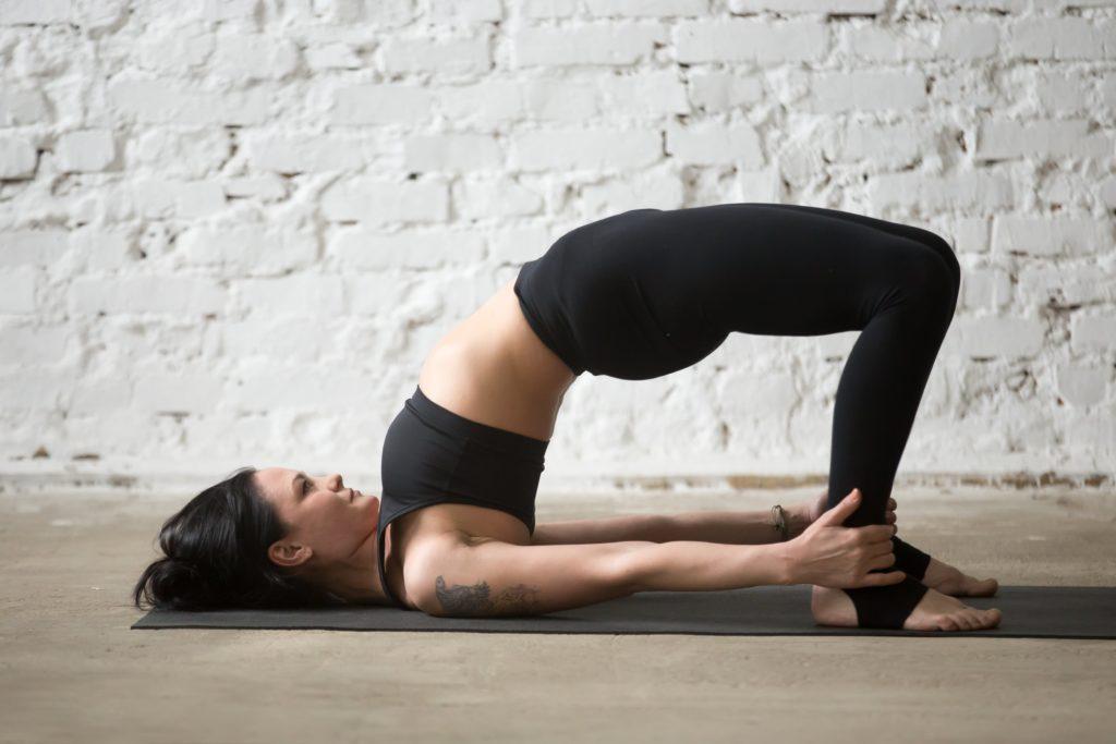 Bridge Pose   Top 9 Yoga poses for stress relief   moveOn 89