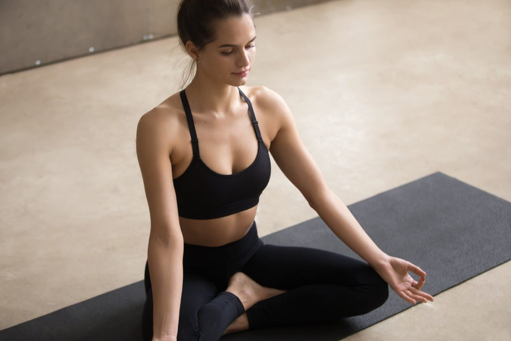 Easy Pose   Top 9 Yoga poses for stress relief   moveOn 89