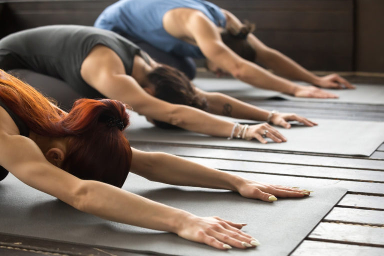 Top 9 Yoga Poses for Stress Relief | moveOn 89